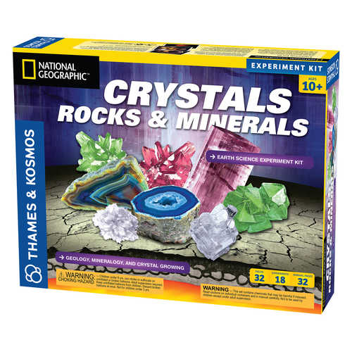 Crystals, Rocks and Minerals Kit