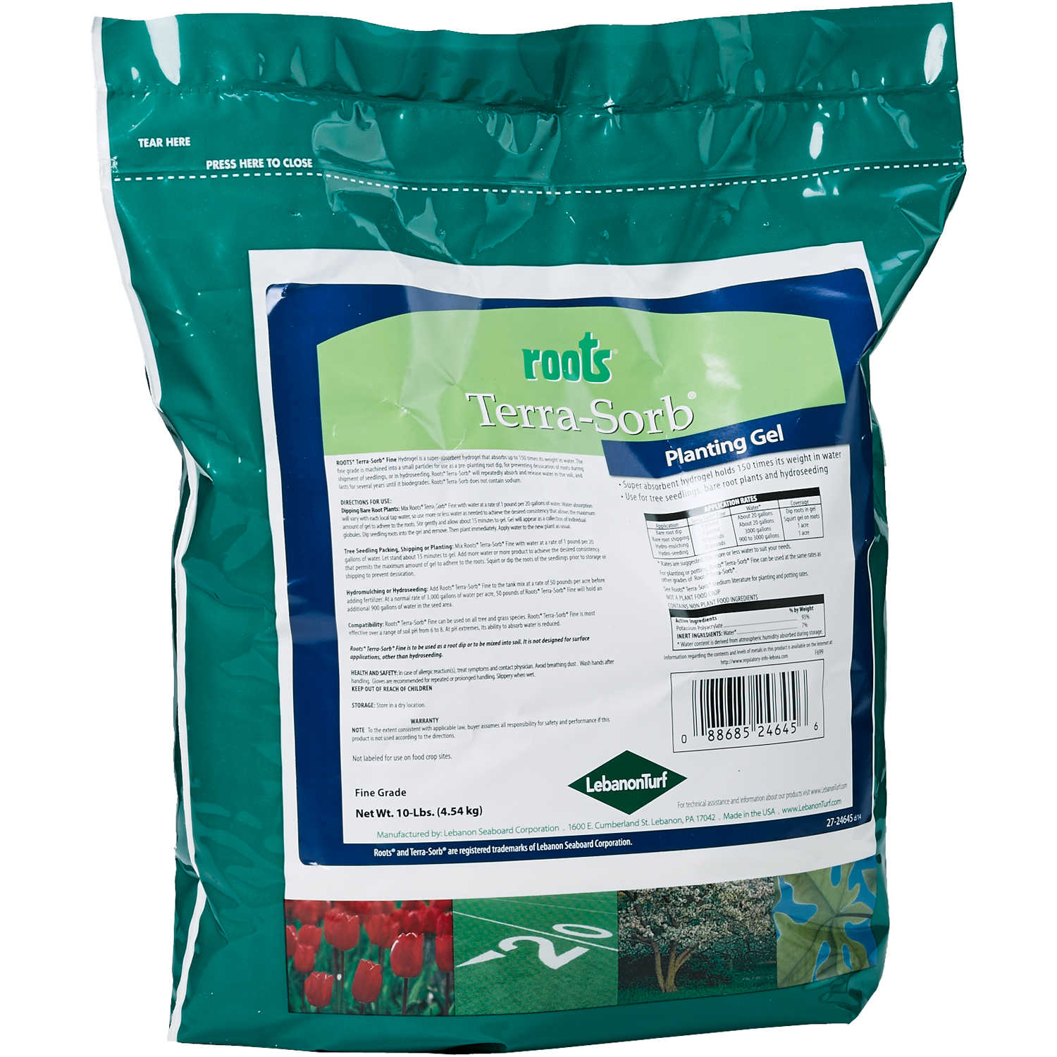 10 Lb Bag Roots Terra Sor Forestry Suppliers Inc Super Pel