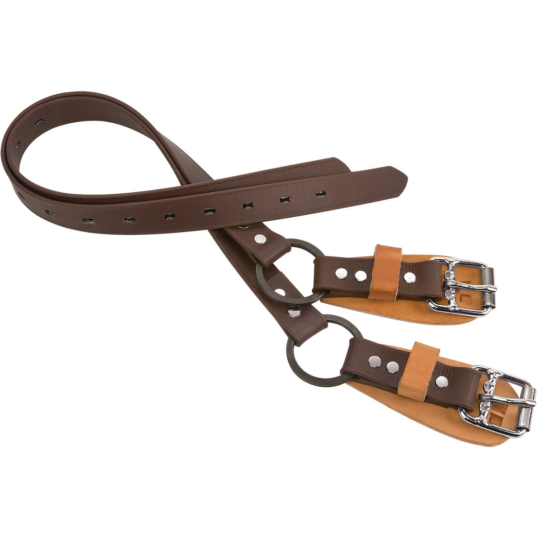"Weaver Tree//Pole Climbers 26"" Nylon Ankle Straps w//Split Ring Pair"