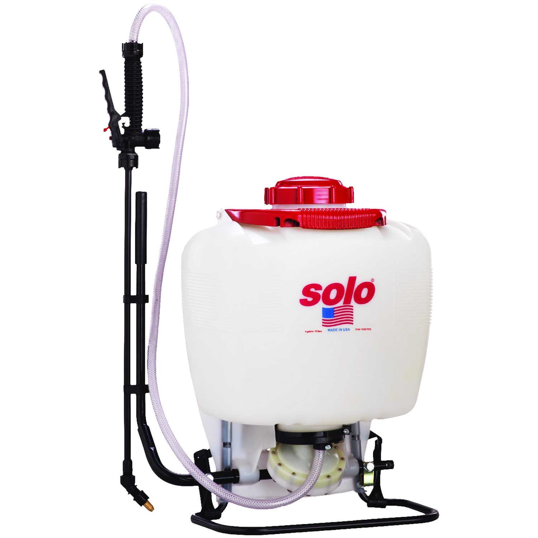 Model 475-101 Solo Backpack Sprayer Diaphragm Pump 4 Gal