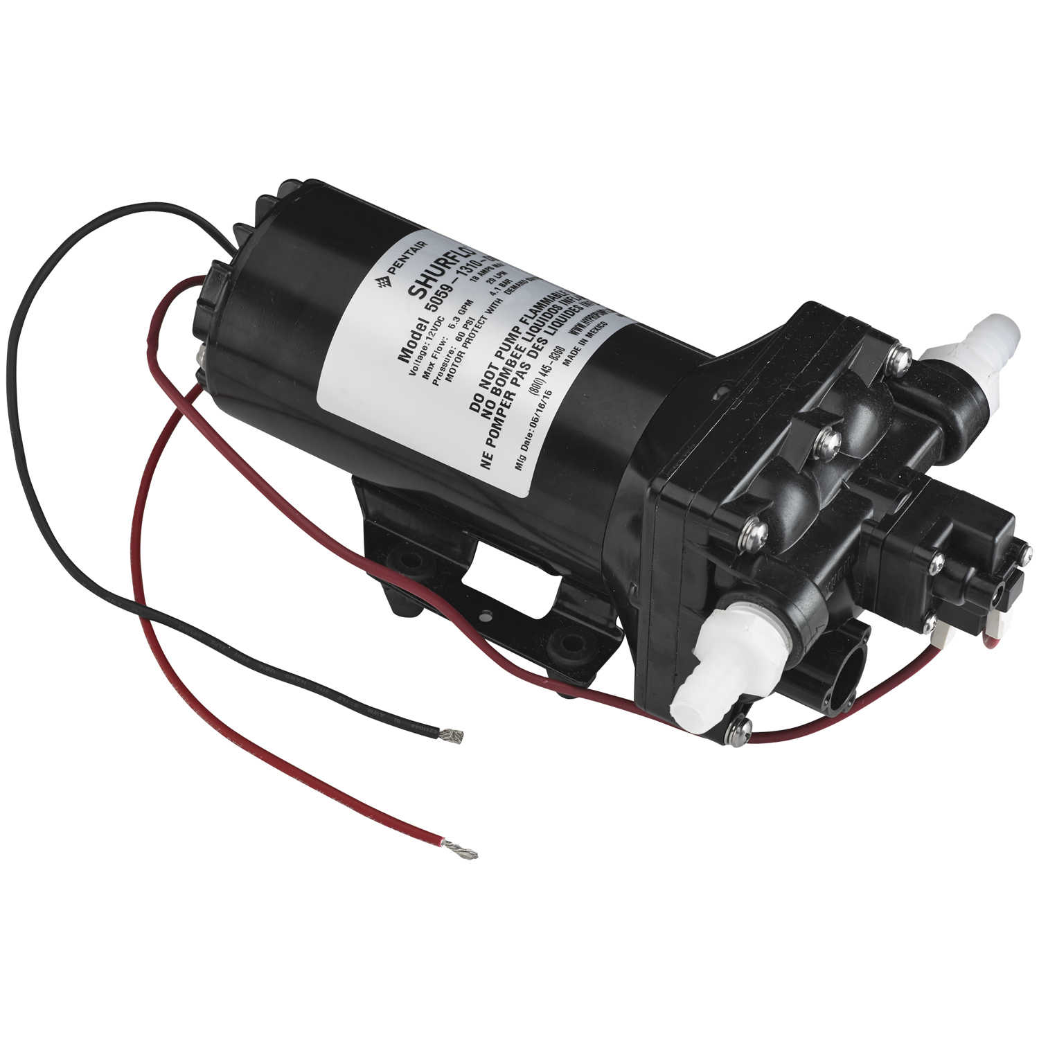 Shurflo 12v dc high flow automatic demand diaphragm pump 53 gpm 60 self priming up to 8 feet chemical resistant materials designed for heavy duty spraying and fluid transfer applications can run dry without damage ccuart Image collections
