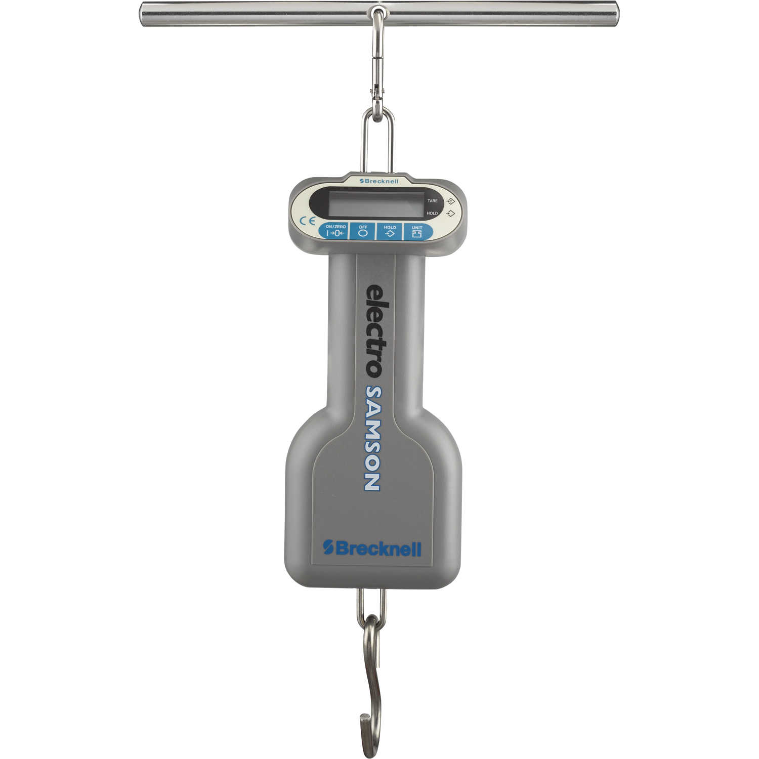 464c81f762a5 Details about 22 lbs. Brecknell ElectroSamson Digital Hanging Scale 22 lbs.  x 0.02 lb./10 k...