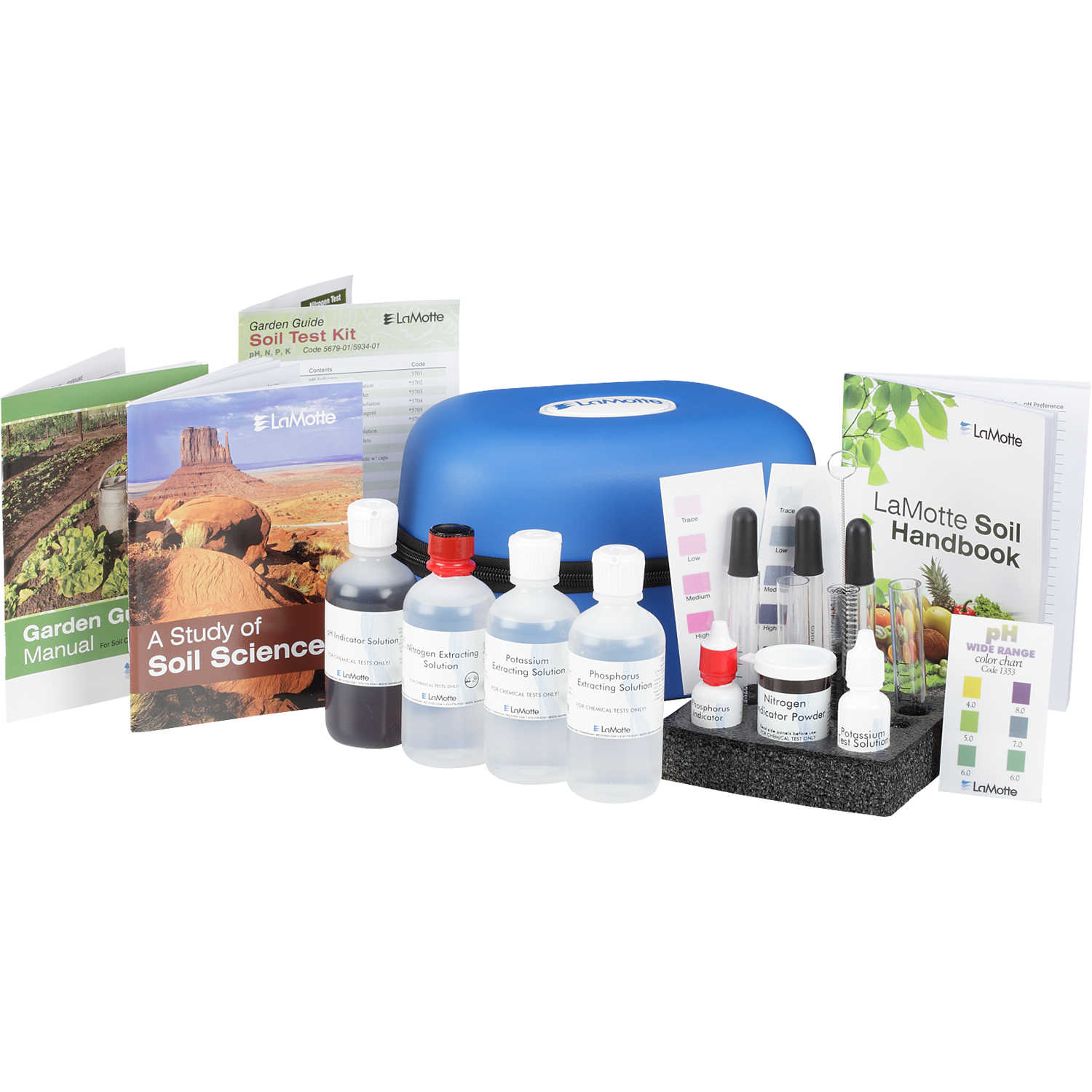 Quiz What Is Your Garden Style: LaMotte Combination Soil Test Sets With Soi...