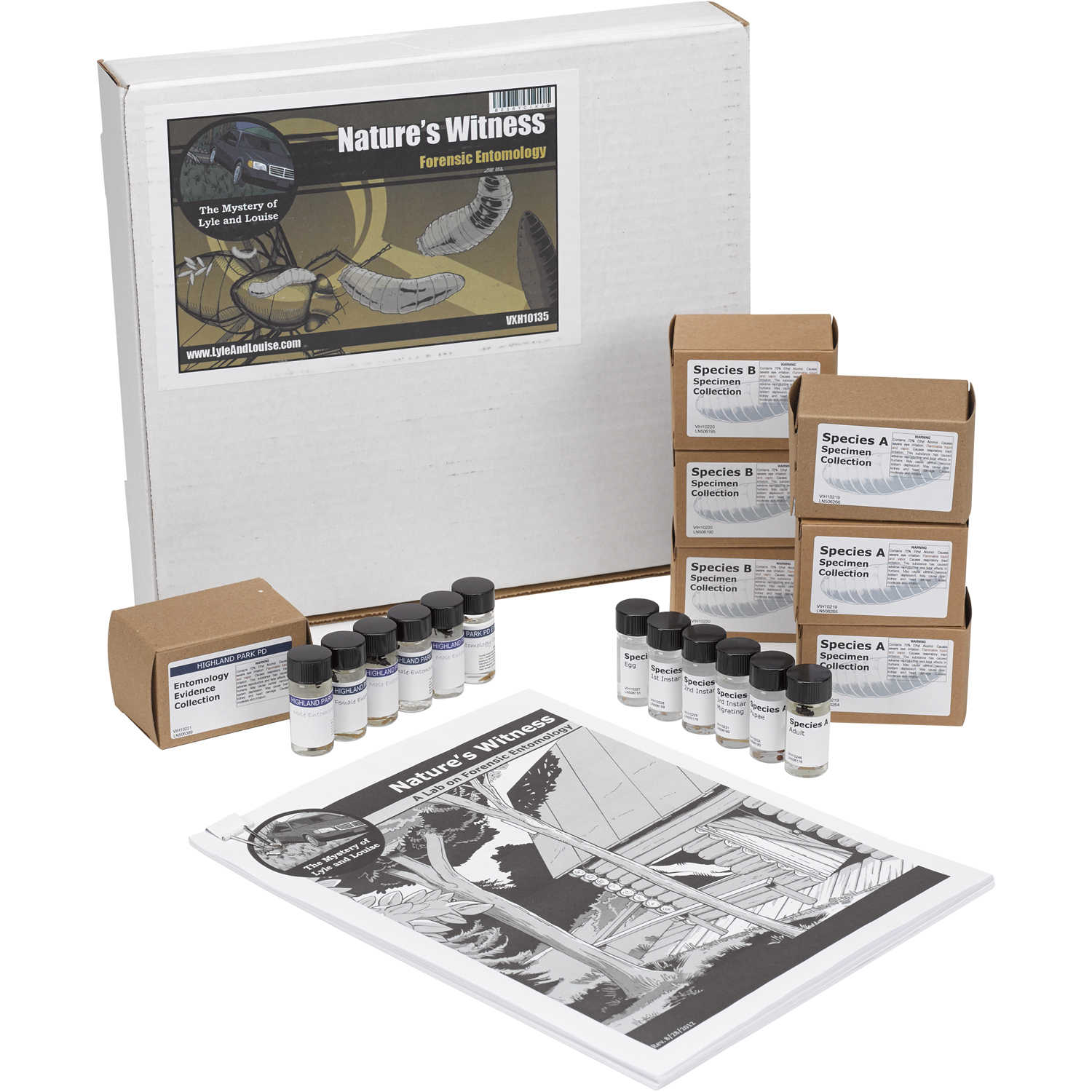 Forensic Entomology Kit Forestry Suppliers Inc