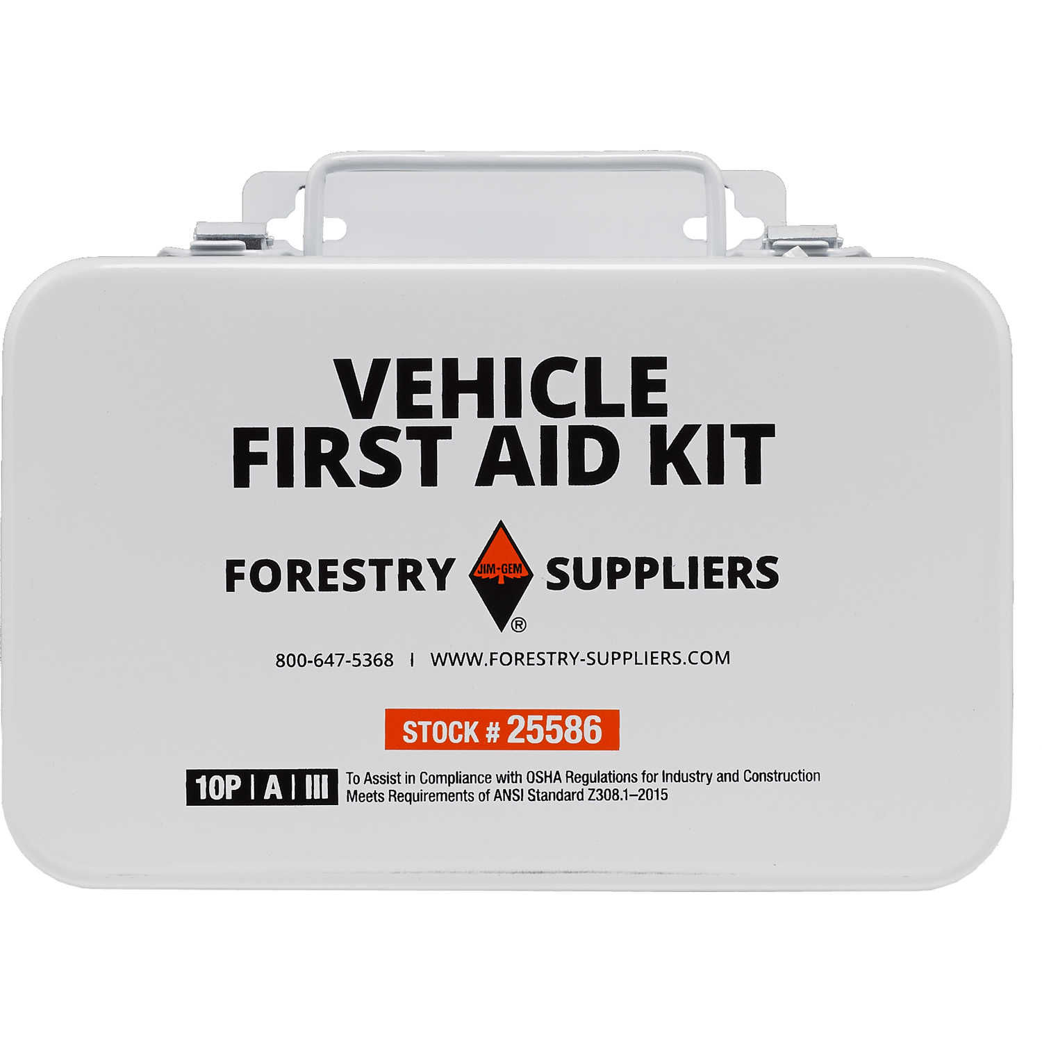 Details about Forestry Suppliers 10-Person Vehicle First Aid Kit