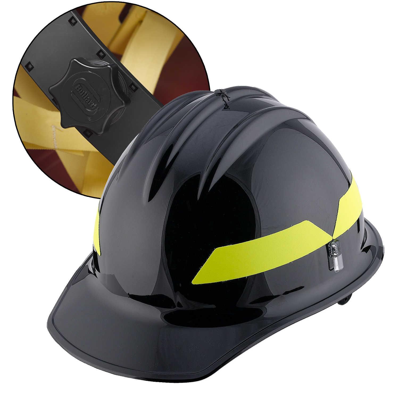 White Cap Model FH911C Bullard Wildland Fire Helmet with Self Sizing 6-Point ...