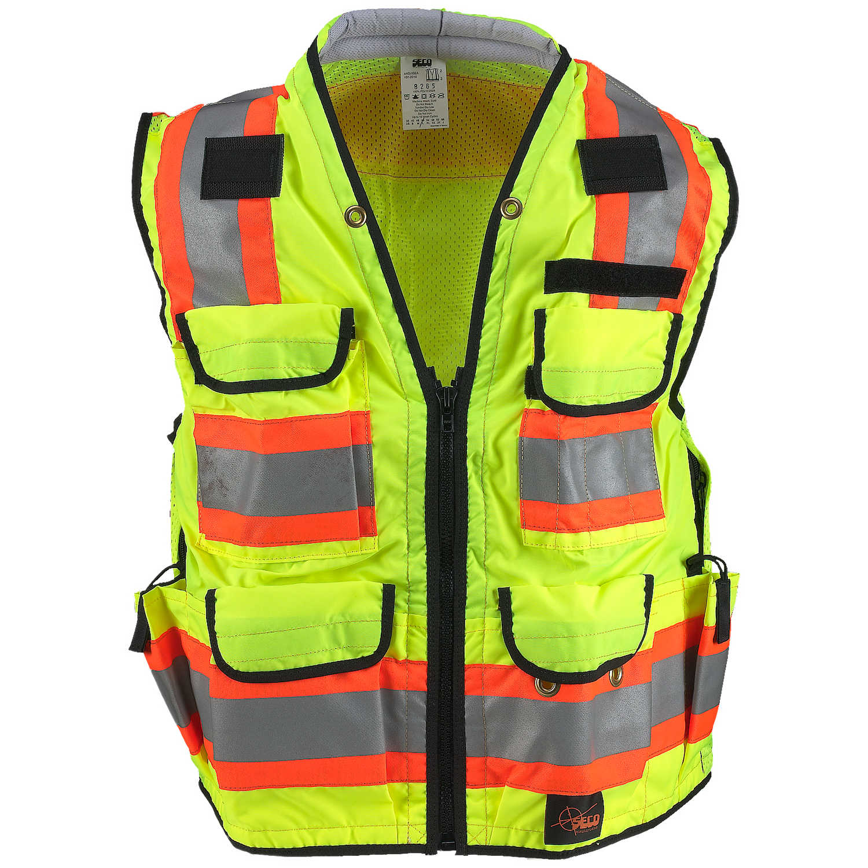 Large SECO Class 2 Safety Utility Vest Size 48-50