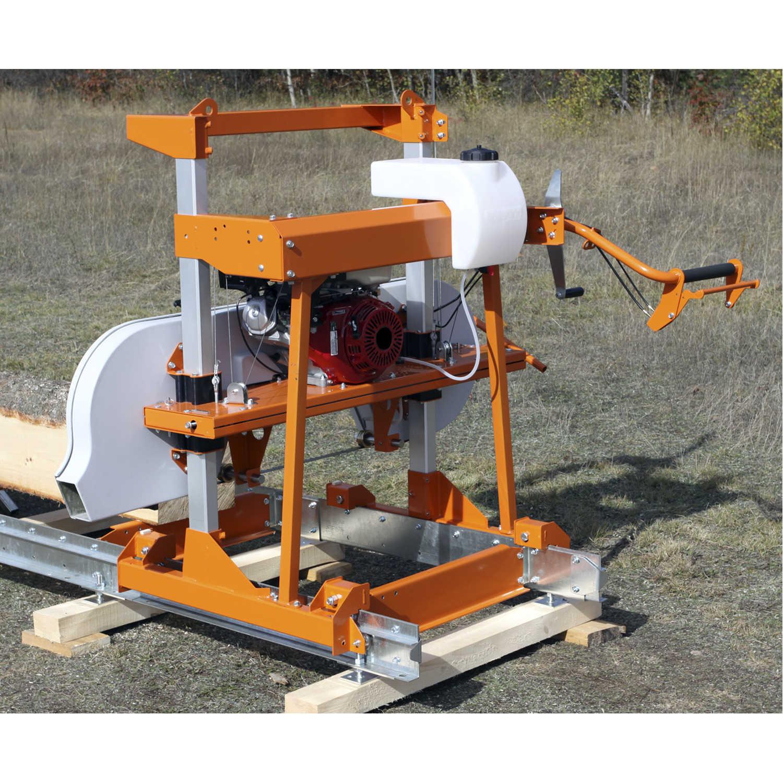Norwood Lumbermate Lm29 Portable Band Sawmill Milling Lumber In Zambia