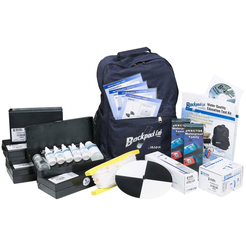 Hanna Instruments® Backpack Lab™ Marine Science Education Test Kit